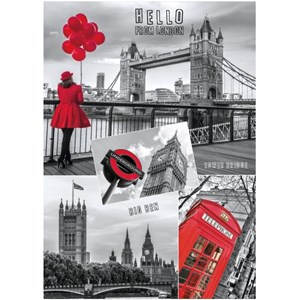 """Dino (53250) - """"Hello from London"""" - 1000 pieces puzzle"""