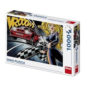 """Dino (53272) - """"Pop Art, Race"""" - 1000 pieces puzzle"""