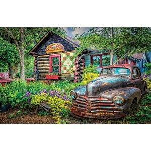 "SunsOut (37316) - Celebrate Life Gallery: ""Part of the Garden"" - 550 pieces puzzle"