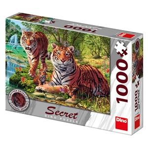 """Dino (53262) - """"Tigers"""" - 1000 pieces puzzle"""