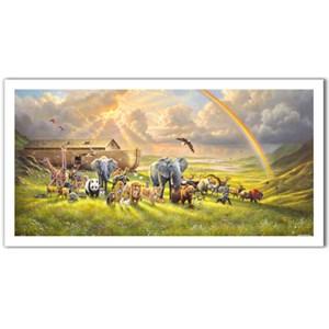 "Pintoo (h2061) - Abraham Hunter: ""New Beginning"" - 800 pieces puzzle"