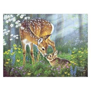 "Pintoo (h2067) - Abraham Hunter: ""Forest Friends"" - 1200 pieces puzzle"