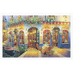 "Pintoo (h2029) - Viktor Shvaiko: ""Au Bon Chabrot"" - 1000 pieces puzzle"