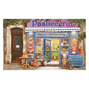 "Pintoo (h1998) - Guido Borelli: ""Pastry Shop"" - 1000 pieces puzzle"