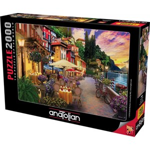 "Anatolian (3944) - David McLean: ""Lake Como"" - 2000 pieces puzzle"