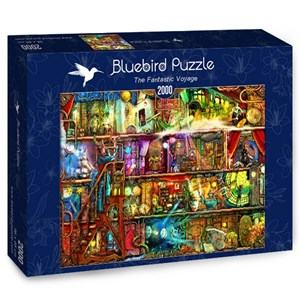 "Bluebird Puzzle (70161) - Aimee Stewart: ""The Fantastic Voyage"" - 2000 pieces puzzle"
