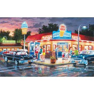 """SunsOut (39372) - Ken Zylla: """"A Touch of August"""" - 550 pieces puzzle"""