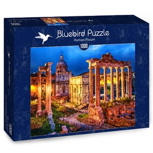 "Bluebird Puzzle (70264) - Boris Stroujko: ""Roman Forum"" - 1000 pieces puzzle"