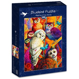 """Bluebird Puzzle (70279) - David Galchutt: """"Meeting of the Minds"""" - 1000 pieces puzzle"""
