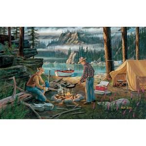 """SunsOut (39697) - Ken Zylla: """"Alaska Adventure"""" - 550 pieces puzzle"""