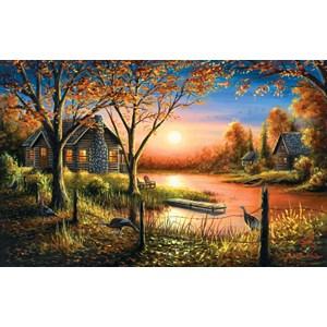 """SunsOut (55140) - Chuck Black: """"Glorious Sunset"""" - 550 pieces puzzle"""