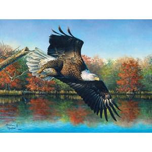 """SunsOut (69607) - Abraham Hunter: """"Wetlands Eagle"""" - 1000 pieces puzzle"""
