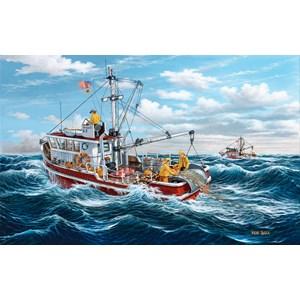 """SunsOut (39685) - Ken Zylla: """"Out of Fort Kodiak"""" - 550 pieces puzzle"""