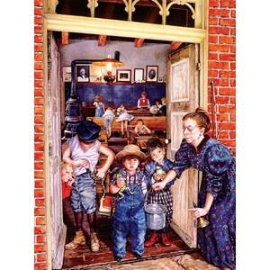 """SunsOut (44655) - Susan Brabeau: """"Her Little Rascals"""" - 1000 pieces puzzle"""