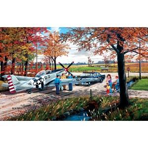"""SunsOut (39336) - Ken Zylla: """"Emergency Landing"""" - 550 pieces puzzle"""