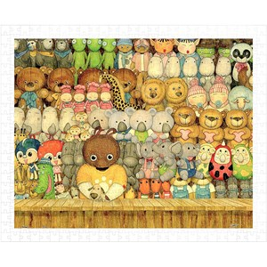 "Pintoo (h1010) - ""Cool Bears Toyshop"" - 500 pieces puzzle"