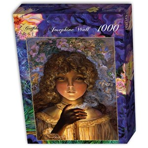 """Grafika (t-00950) - Josephine Wall: """"Dreaming by Candlelight"""" - 1000 pieces puzzle"""