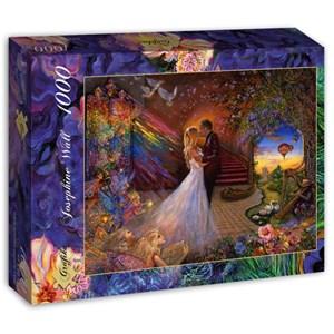 "Grafika (t-00951) - Josephine Wall: ""Fairy Wedding"" - 1000 pieces puzzle"