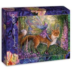 "Grafika (t-00952) - Josephine Wall: ""Foxglove Fairy"" - 1000 pieces puzzle"
