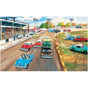 "SunsOut (39339) - Ken Zylla: ""Thunder Road"" - 550 pieces puzzle"