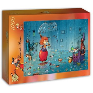 "Grafika (t-00939) - François Ruyer: ""Wet Witch"" - 1000 pieces puzzle"