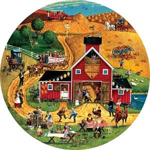"""SunsOut (14068) - """"Harvest Dance"""" - 500 pieces puzzle"""
