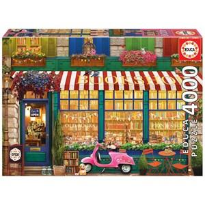 """Educa (18582) - """"Vintage Bookshop"""" - 4000 pieces puzzle"""