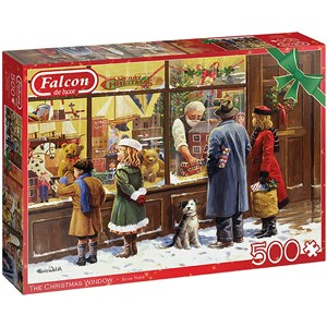 "Falcon (11271) - Kevin Walsh: ""The Christmas Window"" - 500 pieces puzzle"