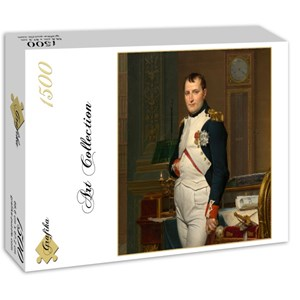 "Grafika (01191) - Jacques-Louis David: ""The Emperor Napoleon in his study at the Tuileries, 1812"" - 1500 pieces puzzle"