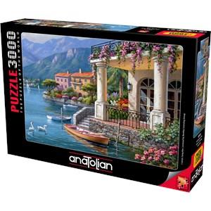 "Anatolian (4915) - Sung Kim: ""Villa on the Bay"" - 3000 pieces puzzle"