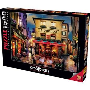 "Anatolian (4552) - David McLean: ""Meet Me in Paris"" - 1500 pieces puzzle"