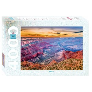 """Step Puzzle (85411) - """"The Grand Canyon"""" - 4000 pieces puzzle"""