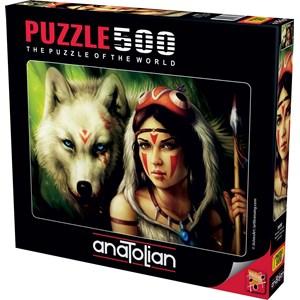"Anatolian (3600) - ""Warrior Princess"" - 500 pieces puzzle"