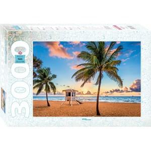 "Step Puzzle (85018) - ""Fort Lauderdale, USA"" - 3000 pieces puzzle"