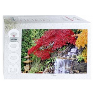 """Step Puzzle (85019) - """"Waterfall in the Japanese Garden"""" - 3000 pieces puzzle"""