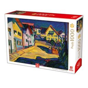 "Deico (76755) - Vassily Kandinsky: ""Murnau Burggrabenstrasse"" - 1000 pieces puzzle"