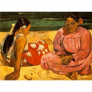 "D-Toys (76465) - Paul Gauguin: ""Tahitian Women on the Beach"" - 1000 pieces puzzle"