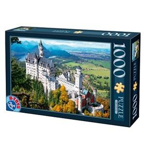 "D-Toys (70654) - ""Neuschwanstein Castle, Germany"" - 1000 pieces puzzle"