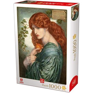 "Deico (76717) - Dante Gabriel Rossetti: ""Proserpine"" - 1000 pieces puzzle"