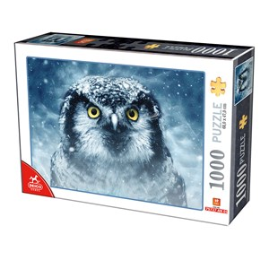 "Deico (75727) - ""Owl"" - 1000 pieces puzzle"