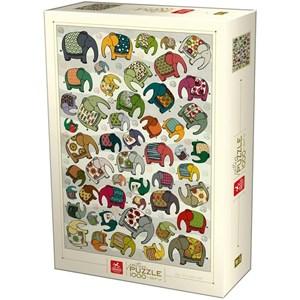 """Deico (75437) - """"Pattern Puzzle"""" - 1000 pieces puzzle"""