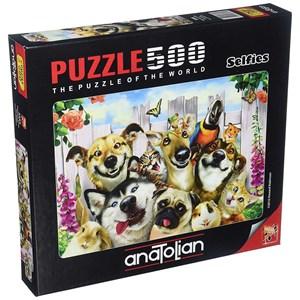 """Anatolian (3584) - """"Pet Selfie"""" - 500 pieces puzzle"""