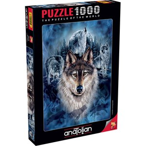 """Anatolian (1079) - """"Wolf Team"""" - 1000 pieces puzzle"""