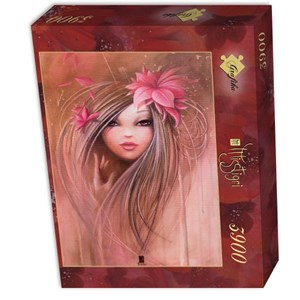 "Grafika (01308) - Misstigri: ""Sweet Pinky Girl"" - 3900 pieces puzzle"