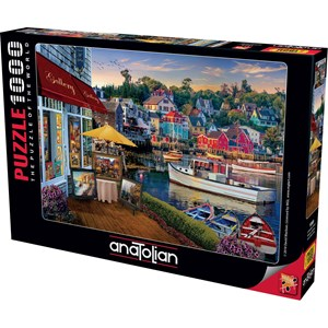 "Anatolian (1069) - David McLean: ""Harbour Gallery"" - 1000 pieces puzzle"