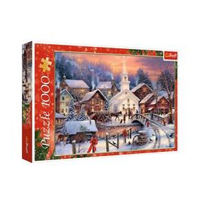 "Trefl (10602) - ""White Christmas"" - 1000 pieces puzzle"
