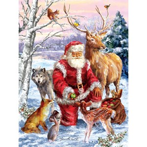 "SunsOut (60661) - Marcello Corti: ""Santa's Menagerie"" - 1000 pieces puzzle"