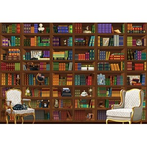 "Bluebird Puzzle (70252) - ""The Vintage Library"" - 6000 pieces puzzle"