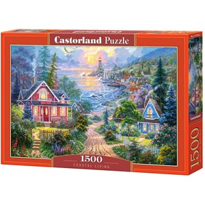 "Castorland (C-151929) - ""Coastal Living"" - 1500 pieces puzzle"