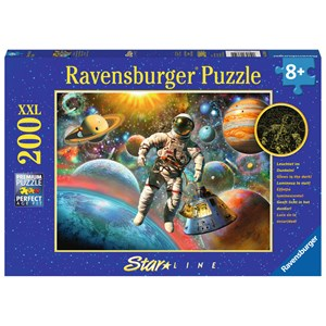 "Ravensburger (13612) - ""Space Trip"" - 200 pieces puzzle"